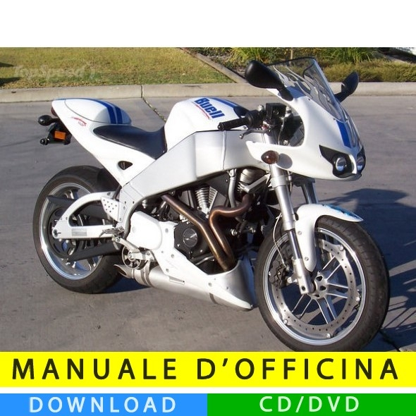 Manuale officina buell xb9r 2003 2010 en for Officina moto italia