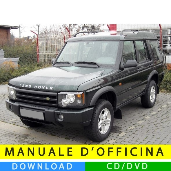 1999 2004 Land Rover Discovery Ii Service Manual Cd Rom: Manuale Officina Land Rover Discovery II (1998-2004) (EN