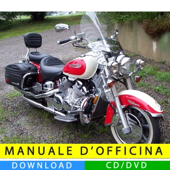 Manuale officina yamaha royal star 1996 2010 en for Officina moto italia
