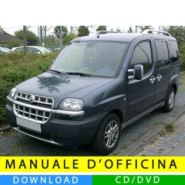 Manuale officina Fiat Doblò (2000-2010) (Multilang)