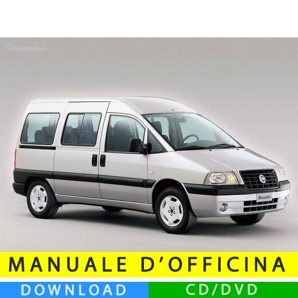Manuale officina Fiat Scudo (1996-2007) (Multilang)