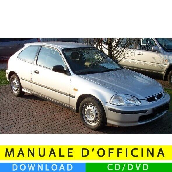 Manuale officina Honda Civic VI (1996-2000) (EN)