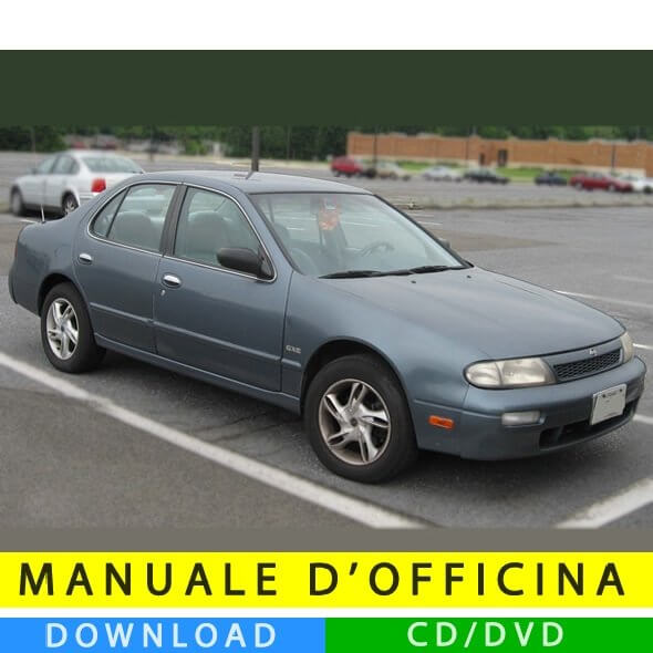 Manuale officina Nissan Altima (1992-1997) (EN)
