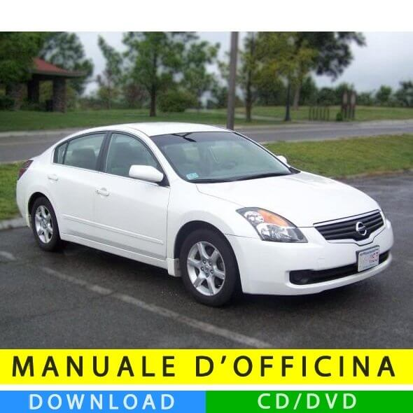 Manuale officina Nissan Altima (2007-2012) (EN)