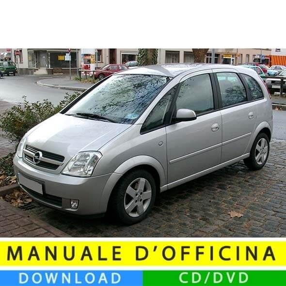 Manuale officina Opel Meriva A (2003-2010) (IT)