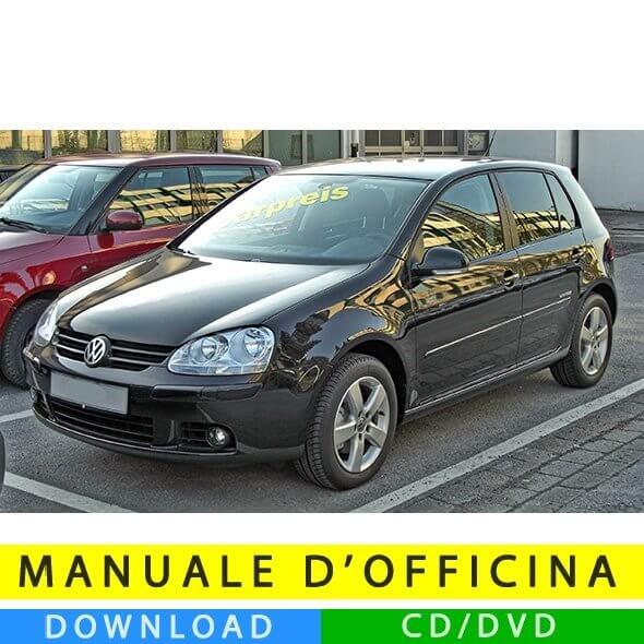Manuale officina Volkswagen Golf V (2003-2008) (IT)