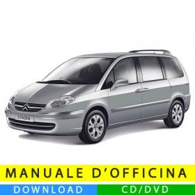 Manuale officina Citroen C8 (2002-2014) (Multilang)