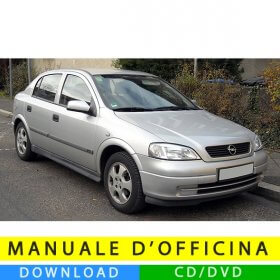 Manuale officina Opel Astra G (1998-2006) (EN)