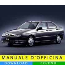 Manuale officina Alfa Romeo 146 (1995-2000) (EN)