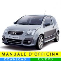 Manuale officina Citroen C2 (2003-2010) (IT)