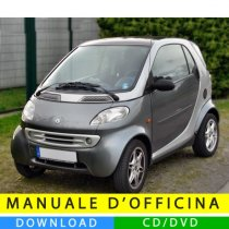 Manuale officina Smart Fortwo (1998-2007) (EN-IT-DE)